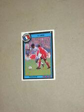 Carte card official football cards panini 1993 LADA  TOULOUSE TFC