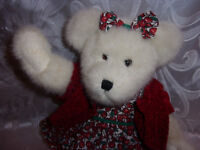 """The Boyds Collection 12"""" Cherry Bear 13""""  Plush Soft Toy Stuffed Animal"""