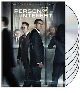 PERSON OF INTEREST IN DVD - 5 STAGIONI IN ITALIANO - COLLEZIONE ORIGINALE