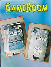GameRoom Magazine Jackpot Bank Williams CPU  Pinball March 1995