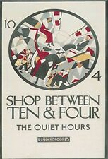 Shop between Ten & Four  fridge magnet (rr)   REDUCED TO CLEAR------------------