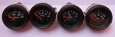 "Gauges Set ( 4 pc) - Oil Pressure  Temperature  Volt  Fuel Gauge 2"" Electric"