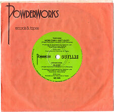 """OUTLINE - HOW CAN I GET OUT? - RARE 7"""" 45 VINYL RECORD 1981"""
