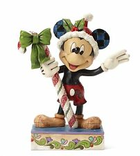 Disney Traditions Sweet Greetings -Festive Mickey Mouse NEW  27315