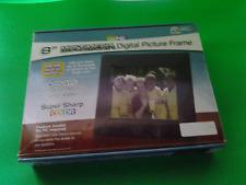"GiiNii 8""Multimedia Black Digital Picture Frame"