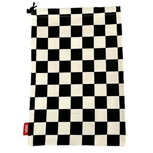 Vans Black/White Checkerboard Shoe Bag