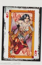 WOMEN OF DYNAMITE 2014 SDCC LIMITED EDITION PROMO CARD PROMO 6 DAMSELS