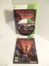 Xbox 360 NTSC nos Resident Evil Operation Raccoon City