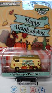 Greenlight Exclusive Volkswagen Panel Van Happy Thanksgiving (NG116)