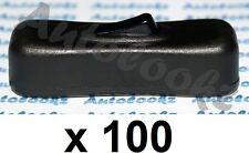 100 x 12V IN-LINE CABLE ON-OFF ROCKER SWITCH BLACK lamp spot light caravan etc