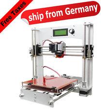 Free Tax & Free shipping Geeetech aluminium plein Prusa I3 3D imprimante LCD MK8