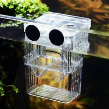 Aquarium Hatcher Trap Fish Breeding Box Tank Fry Pregnant Breeder Isolation Case