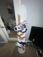 Snowboard with Bindings (158 CM)