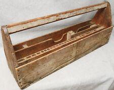 1920s - Handmade Carpenter's Tool Carrier - FREE US SHIPPING!