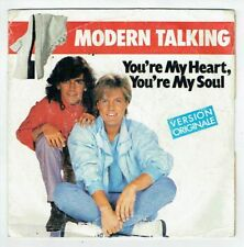"MODERN TALKING Vinyle 45 tours SP 7"" YOU'RE MY HEART YOU MY SOUL - WEA 249179-7"