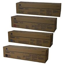Set Of 4 Konica Minolta TN611 Toner Cartridge BIZHUB C451 C550 C650
