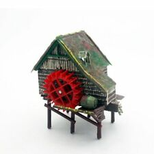 WaterWheel Aquarium Landscaping Small House Accessories for Air Pump Fish Tank