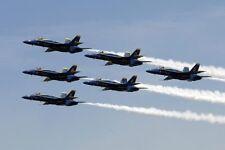 US NAVY BLUE ANGELS FAT ALBERT SAN FRANCISCO 8x10 SILVER HALIDE PHOTO PRINT