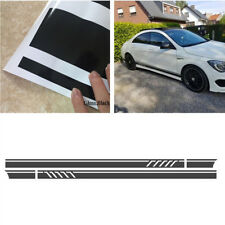 Auto Side Body Gloss Black Strip Sticker Vinyl Decal for Car Stlying Decoration
