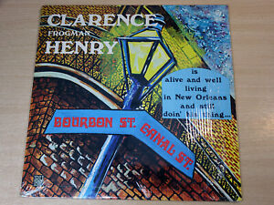 EX !! Clarence Frogman Henry/Alive And Well Living In New Orleans/1970 Pye LP