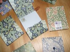 GIFTED STATIONERY COMPANY 8 MINI WILLIAM MORRIS NOTE PADS HANDBAG SIZE PAPER