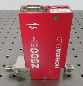 "C176929 Horiba STEC Z500 SEC-Z522MGXN Digital Mass Flow Device H2 50SLM 1/4"" VCR"