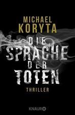 Die Sprache der Toten von Michael Koryta (2015, Taschenbuch), UNGELESEN