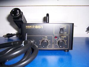 12101 Hakko 851 SMT rework station