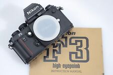 EXC+++ NIKON F3 HP  35mm SLR FILM CAMERA BODY, MANUAL, CLEAN & ACCURATE