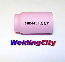 """WeldingCity 10-pk Gas Lens Cup 54N14-12 #12 3/4"""" TIG Welding Torch 17/18/26 USA"""