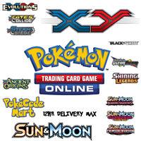 POKEMON THEME DECK Online Bonus Codes (Select from list) PTCGO