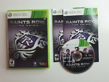 Saints Row The Third (Xbox 360) - Complete CIB - FAST AND FREE SHIPPING !!