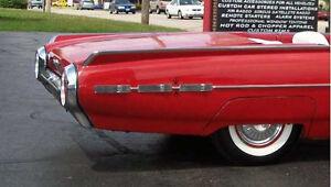 1962 Ford Thunderbird Deluxe Rear Side Trim Molding FoMoCo C2SB Original Sport