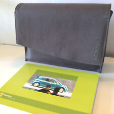 Renault Modus manuale d'uso libretto istruzioni