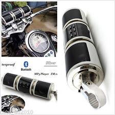 Motorcycle Speakers Bluetooth Audio Radio Voice System Waterproof Universal FM