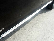 2007-2014 FORD EDGE 4 Piece Stainless Steel Rocker Panel Trim, On the rocker