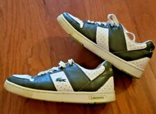 LACOSTE MEN'S SHOES – THRILL SPACE – GREEN / WHITE – SIZE 11