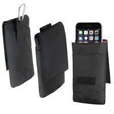 """Vertikaltasche Etui für Apple iPhone 6 / 6s (4,7"""") Case Tasche Hülle schwarz"""
