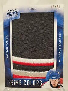 2013-14 Panini Prime Colors Logo /71 Thomas Vanek #PC-TVA