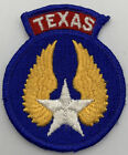 Texas Air Civil Patrol Embroidered Patch Air Force Vintage Aviation Airplane 239