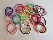 Elastique à cheveux fin multicolore - 4cm - lot de 40 - LEL18