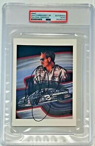 Dale Earnhardt Sr Goodwrench #3 NASCAR Lithograph Signed Auto 6x5 Photo PSA/DNA