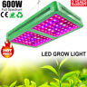 600W LED Grow Light Vollspektrum Pflanzenlampe Hydroponik Zimmerpflanze Wachstum