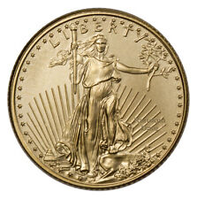 RANDOM DATE - 1/10 oz Fine Gold American Eagle $5 Coin SKU26123