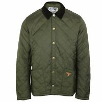BARBOUR BEACON COAT STARLING MENS OLIVE QUILTED JACKET