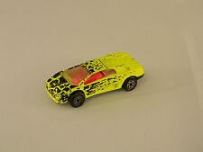 1991 Matchbox Lamborghini Diablo 1:59 Scale Flourescent Yellow Cheetah Pink