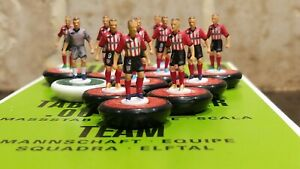 Athletico Bilbao Home 2010 Subbuteo team Handpainted And Decals