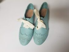 Report Anette Oxford, Teal  7.5 M Shoes