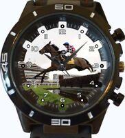 Jockey Horse Racer New Gt Series Sports Unisex Gift Wrist Watch UK SELLER