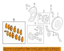 HONDA OEM 11-16 Odyssey Brake-Front Pads 45022TK8A01